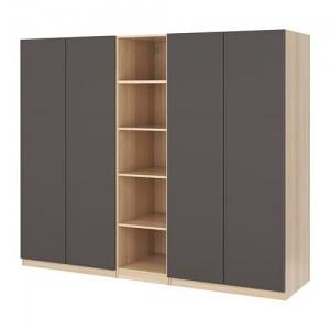 Tủ quần áo gỗ MDF kèm kệ sách - VT8